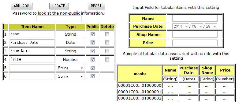9  definition of tabular data
